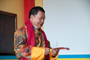 Rinpoche at KSD London - from flickr 1